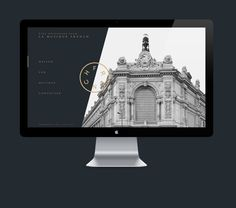 Branding, web design & creative direction for the Paris bound music label 'French'Personal project - all images belong to it's rightful owners. Travel Website Design, Brand Identity, Branding, Digital Web, Music Labels, Web Layout, Visual Communication, Keynote, Web Design