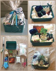 Self Care Kit / Gift Basket  #theclaybunnydiary  Personalized gift baskets and c