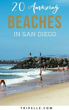 If you are heading to San Diego then you would want to know the best San Diego beaches for sure! The city of San Diego has miles upon miles of sandy beaches. With so many San Diego area beaches, you will always have the option to choose between popular San Diego beaches, pet friendly beaches in San Diego, and even the best beaches for kids. The months of April through November are usually the best time to visit San Diego beaches. Usa Travel Guide, Travel Usa, Travel Guides, Travel Tips, Travel Info, Best Beaches For Kids, Beaches In The World, Beach Fun, Beach Trip
