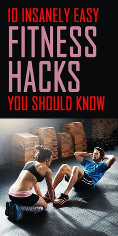 A fit lifestyle can begin with a few small steps and lead to something life changing.  These are 10 insanely easy fitness hacks you can start using TODAY  - during, before, or after your next workout or weight lifting training session!