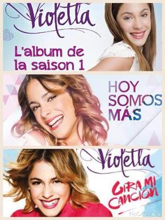 Violetta 1,2,3