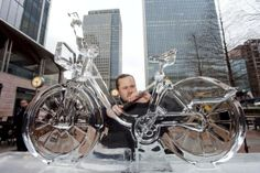 The London Ice Sculpting Festival | Wood Wharf | Festivals | Time Out London