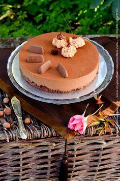 Gianduiotto cake: chocolate and crème brulée...fantastic!