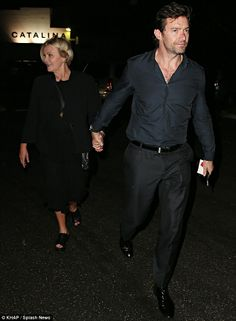 Hugh and Deb-double date with Liev Schreiber and wife,Naomi Watts