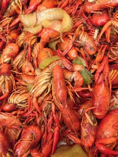 Crawfish yum!