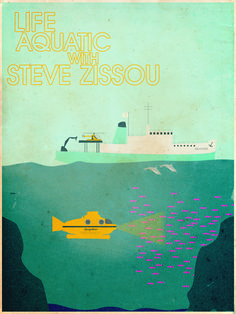 The Life Aquatic With Steve Zissou by Christian Frarey  robertsrants' request