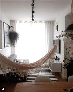 Living room hammock - 5 Motivos para Colocar Rede na Sala – Living room hammock Decor, Interior Design Living Room Warm, Sala, Living Room Warm, Living Room Hammock, Home Decor, House Interior, Interior Design, Living Design