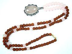 Love Heart Chakra Mala- Rose Quartz Jade Prayer Beads Rudraksha Yoga Spiritual Necklace 108+1 Mogul Interior http://www.amazon.com/dp/B00YH0DPJC/ref=cm_sw_r_pi_dp_j3f9vb180DVBV