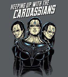 #STARFLEET INTELLIGENCE | Keeping Up With the #Kardashian #Cardassians | #StarTrek