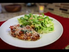 Jorge's Crispy Parmesan Chicken. Ingredients: Chicken Breast, Parmesan, Bread Crumbs; Topping: Tomatoes, Basil,Shallot Dip Chicken in Bread Crumb and Parm mixture. Cook in olive oil. Saute the topping in separate pan.