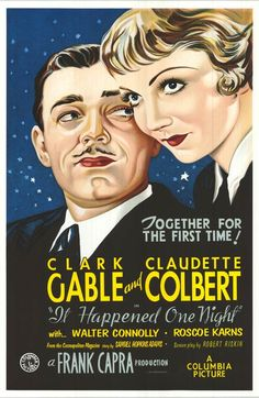 It Happened One Night - 1934. This movie won five Oscars including Best Actor, Actress, Picture, Director, and Screenplay.