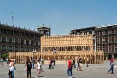 PRODUCTORA | Pavilion on the Zocalo | 2014