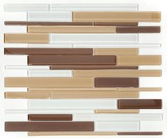 This gorgeous glass mosaic medley mix would look beautiful as an accent in any home. GLZ Cane HB