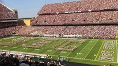 "Aggie Band spells ""SEC"" at TAMU inaugural SEC game v Florida (per SEC ""On Location"" photoblog)"