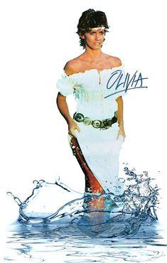 Olivia Newton John Grease, Olivia Newton Jones, Maureen O'hara, Celebrity Bikini, Childhood Memories, Rock And Roll, Disney Characters, Fictional Characters, Celebrities