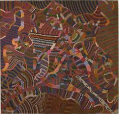 Art has always been part of aboriginal life: it helps to link their past and present, to connect people to their land, and to bridge the gap...
