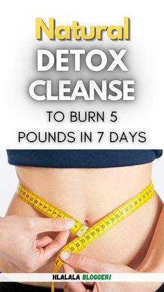 Learn how to naturally detox cleanse your body and lose weight. I'm going to let you know why detox cleansing is actually good for you and also show you the foods you need to detoxify your body.Our bodies suffer from a lot of toxins each and every day from our surroundings. #weightloss #cleansingdiet #bodycleanse #detox #losebellyfat #bellyfat #burnfat