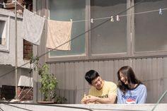 "[Photos + Video] New Stills and Character Trailer Added for the Upcoming Korean Movie ""Tune in for Love"" – wanderlust Korean Movie Scene, Korean Drama Movies, Romance Film, Drama Film, Love Photos, Love Pictures, Korean Couple Photoshoot, The Love Club, Love Scenes"