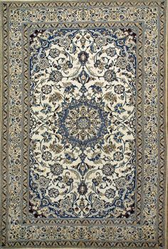 Authentic Persian Rug Nain