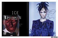 #blue #velvet #feathers #jacket #etiennejeanson #couture  #paris #girl #model #shoot #spring #summer #desert #rose #sand #sable #collection #fashion #uptempo #magazine