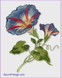 Large Flowers: Zundt Design, Ltd.