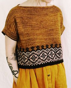 Ravelry: Navelli pattern by Caitlin Hunter Ravelry, Summer Sweaters, Knit In The Round, Fair Isle Knitting, Knitting Projects, Knitwear, Knitting Patterns, Knit Crochet, Shirts