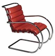 Chair by mies van der rohe
