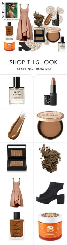 """""""Golden Brown"""" by a-anja ❤ liked on Polyvore featuring beauty, D.S. & DURGA, NARS Cosmetics, Hourglass Cosmetics, Too Faced Cosmetics, Jason Wu and Origins"""