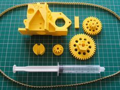 Universal Paste Extruder for 3D printers by RichRap - Thingiverse.