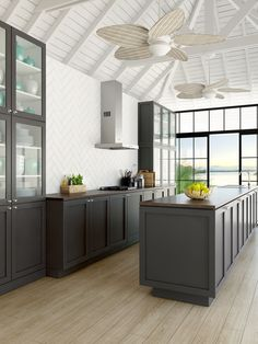 Laminex FormWrap Doors and Panels in Afternoon Shade (Matt finish) Warm Industrial, Coastal Style, Home Kitchens, Living Spaces, Your Style, Home And Family, Shades, Table, House