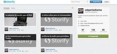 """Fundador de Storify: """"Ninguna organización de noticias puede estar en todas partes""""."""