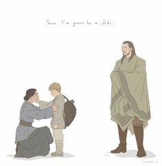 Schmi, Anakin and Qui Gon Jinn