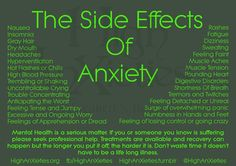 ''The Side Effects of Anxiety''   source: High Anxieties