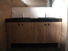 1000 images about badkamermeubels van wood4 on pinterest van met and tes - Badkamermeubels oude stijl ...