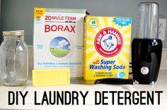 My DIY Laundry Detergent Experience @ First Floor Side Door