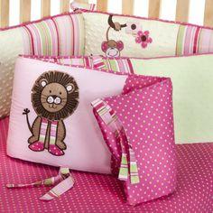 Sweet Jojo Designs Jungle Friends Crib Bumper