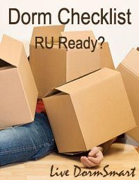 """Our dorm room checklist for college covers """"What to Bring & How to Pack in 3 Easy Steps"""""""