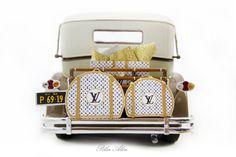 Packard Brewster 1930 Special Edition Louis Vuitton Tienda Louis Vuitton, Miniature Cars, Miniatures, Perfume, Etsy, Christmas Pillow, Labrador Retriever Dog, Print Fabrics, Suitcases