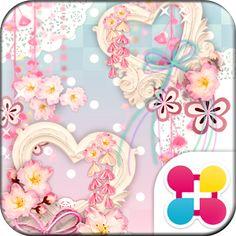 Japanese Lace Wallpaper Theme - https://apkfd.com/japanese-lace-wallpaper-theme/