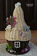 ГномоТаун Newspaper Basket, Newspaper Crafts, Thing 1, Basket Weaving, Home Decor, Craft, Wraps, Papercraft, Faeries