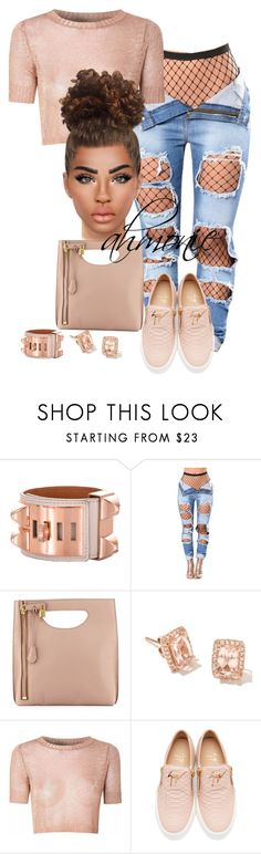 """""""9.18.17"""" by ahmonie ❤ liked on Polyvore featuring Hermès, Tom Ford, Glamorous and Giuseppe Zanotti"""