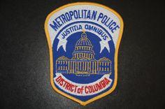 Washington, D.C. Metropolitan Police Patch