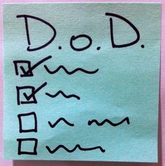 Definition of Done: A checklist, not a process