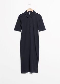 & Other Stories | Piqué Collar Dress