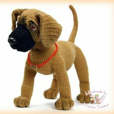 Toy dog crochet