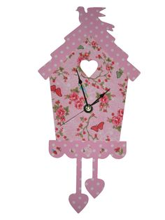 klok kinderkamer. Clock girls room www.kids-ware.nl