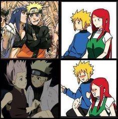 NaruSaku that so funny and real but for me is SasuSaku ❤ forever Anti-Naruhina! Hinata, Sarada E Boruto, Narusaku, Naruto Shippuden Anime, Anime Naruto, Naruto E Sakura, Naruto And Sasuke, Sakura Haruno, Naruto Couples