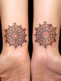 mandala wrist tattoo - Google Search