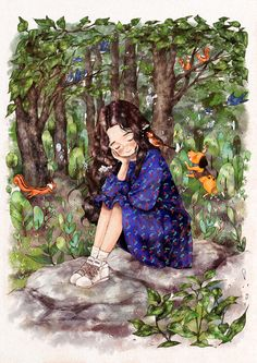 여름의 초입 금세 푸르러진 나무의 잎들이 사부작거리고 이름 모를 산새들이 고운 목소리를 뽐내며 지저귀는 소리 이따금 나뭇잎을 헤집고 먹이를 찾는 작은 동물들의 부산스럽게 움직이는 소리를 가만히 듣고 있노라면 꾸미지 않고 자연스러운 숲의 음악이 이런 것일까 싶습니다