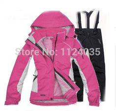 Pas cher Hot / sports de plein air vêtements de ski costumes / pièce étanche coupe   vent veste / manteau chaud à capuche livraison gratuite, Acheter  Ski vestes de qualité directement des fournisseurs de Chine: